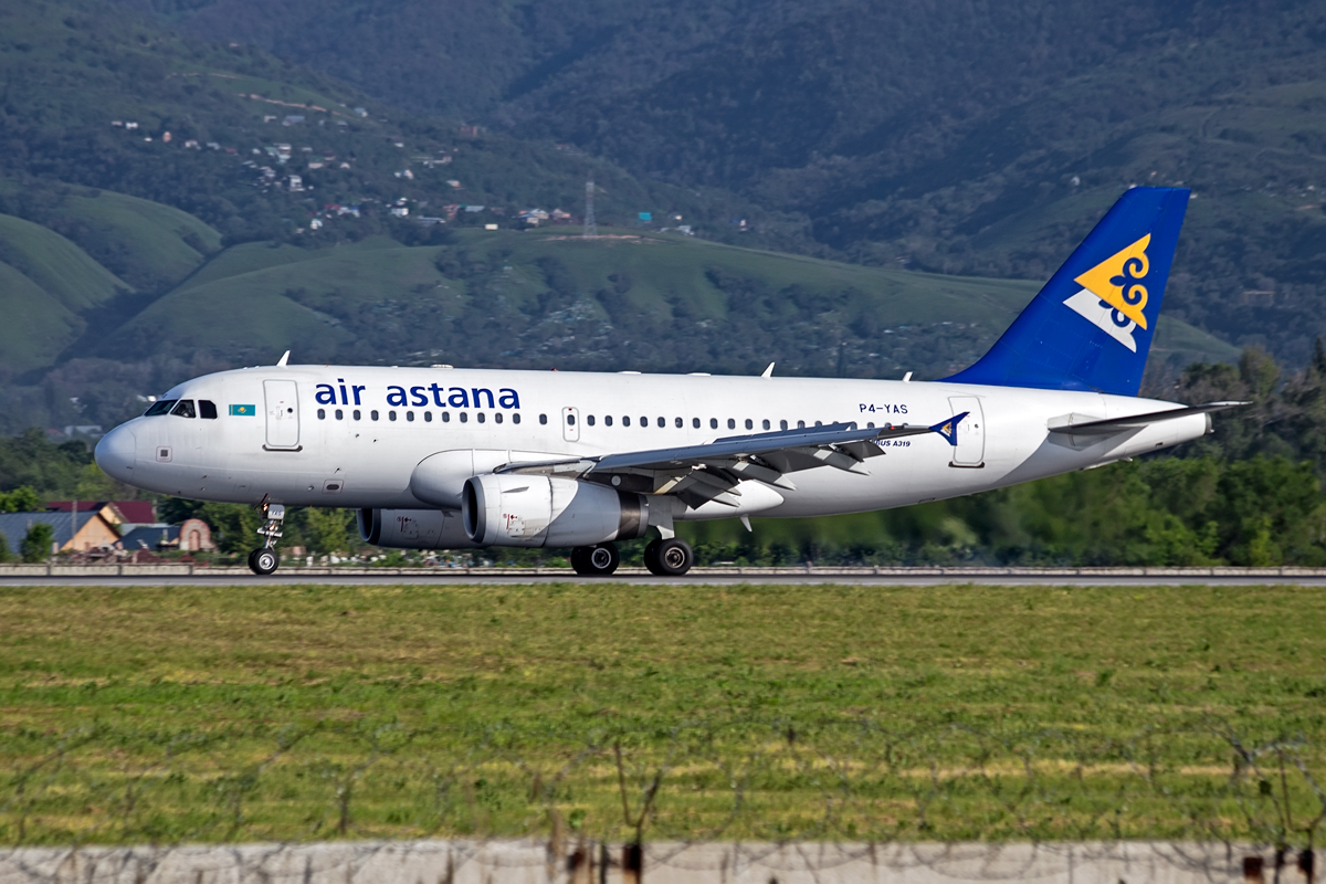 Airbus A319, P4-YAS