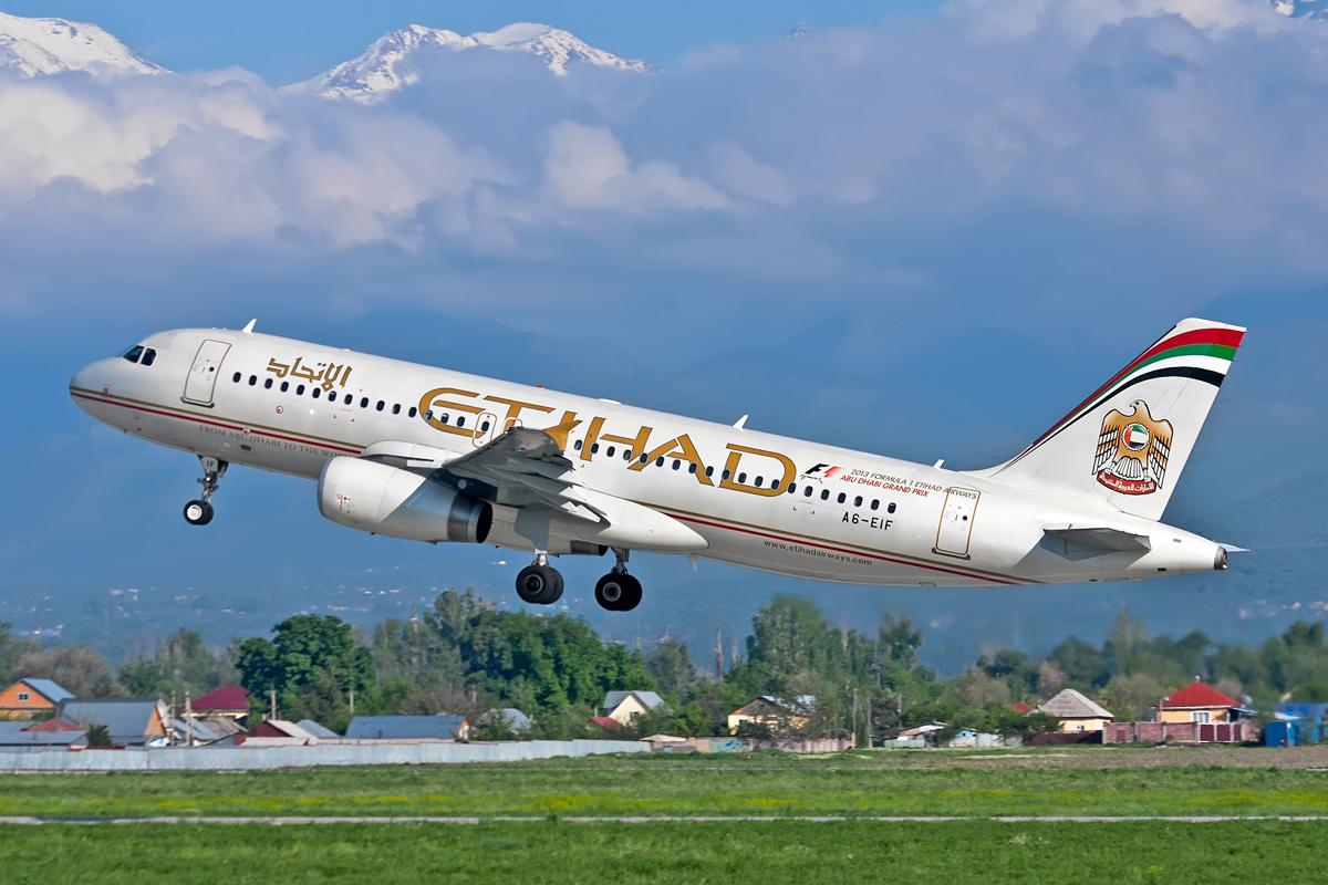 Airbus A320, A6-EIF