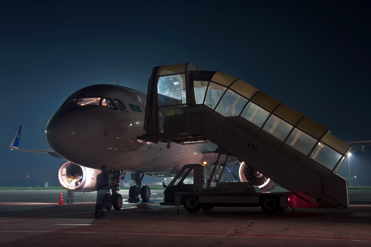 шарклетный Airbus