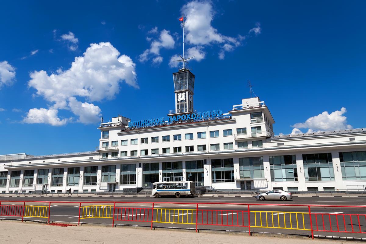 речной вокзал, Нижний Новгород
