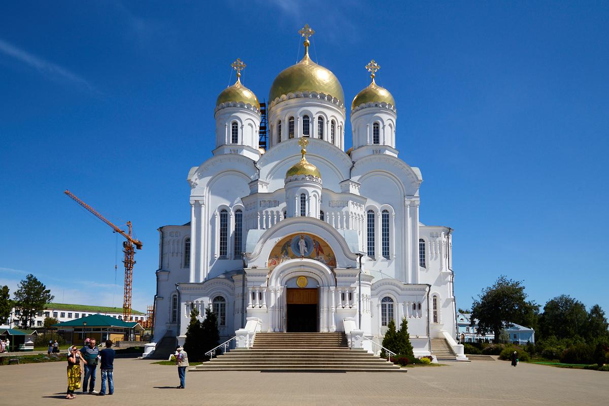 Серафимо-Дивеевский монастырь, Спасо-Преображенский собор