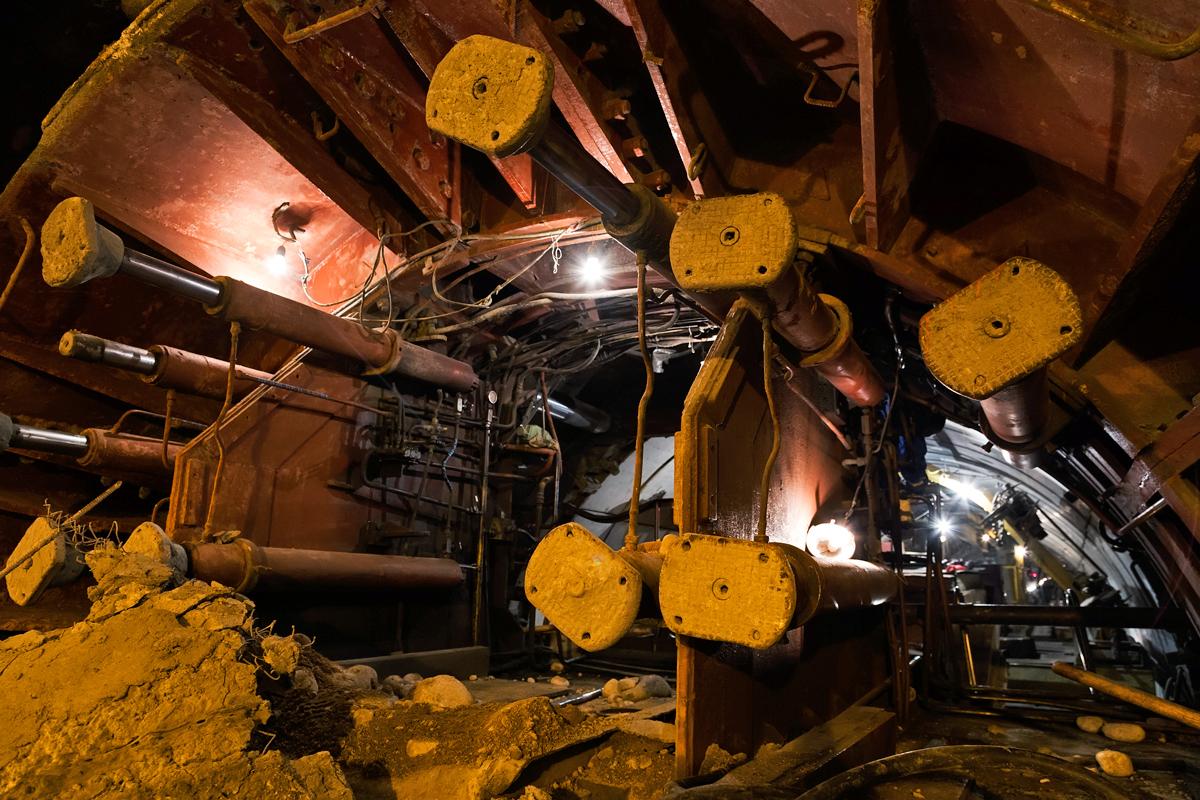 Сбойка тоннелей алматинского метрополитена
