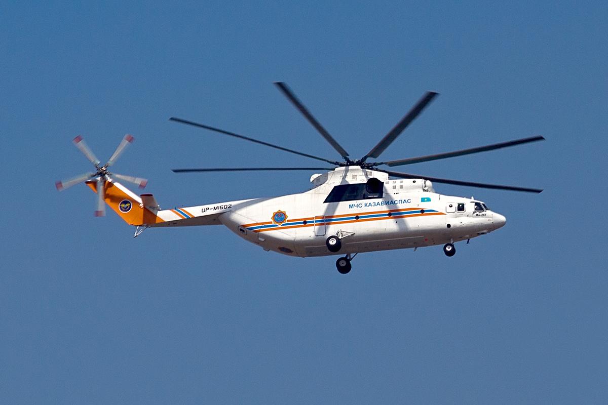 UP-MI602, вертолёт