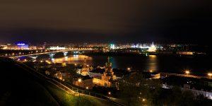 Ночь в Нижнем Новгороде