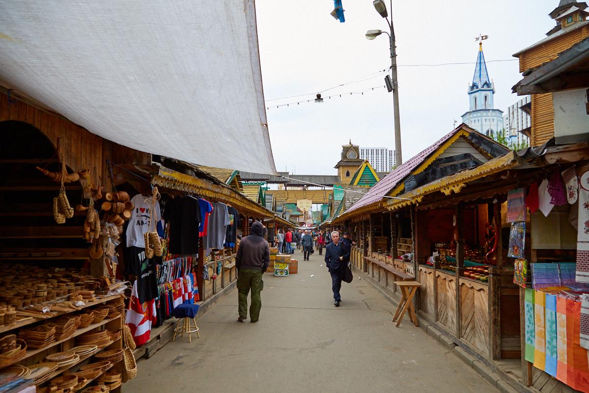 Измайловский блошиный рынок