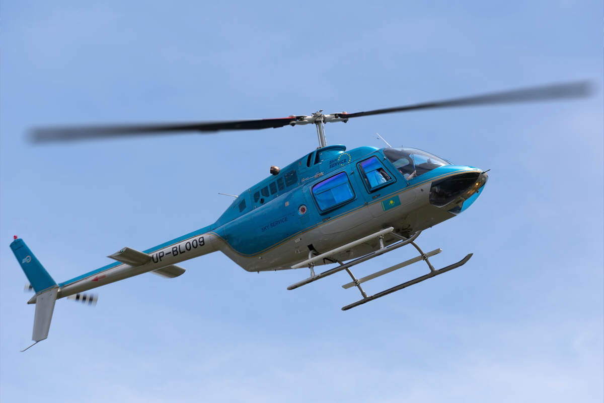 Bell 206, UP-BL009