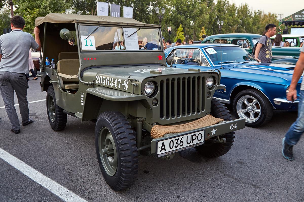 Villa Retro Car 2017, Willys MB