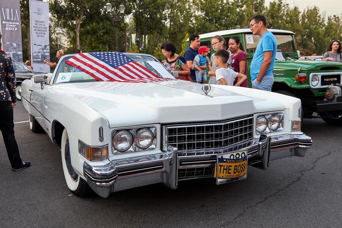 Villa Retro Car 2017, Cadillac Eldorado