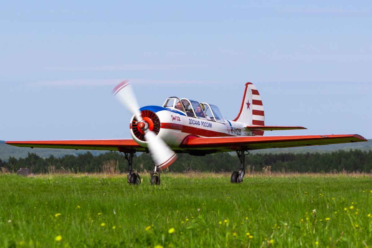 Yakovlev Yak-52, Як-52, RF-01255