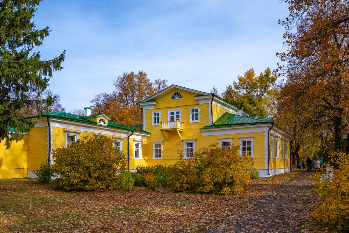 Господский дом Пушкиных