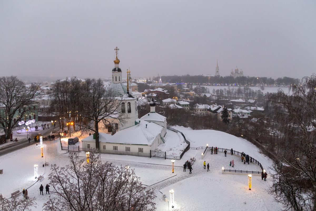 Владимир, Церковь Преображения Господня