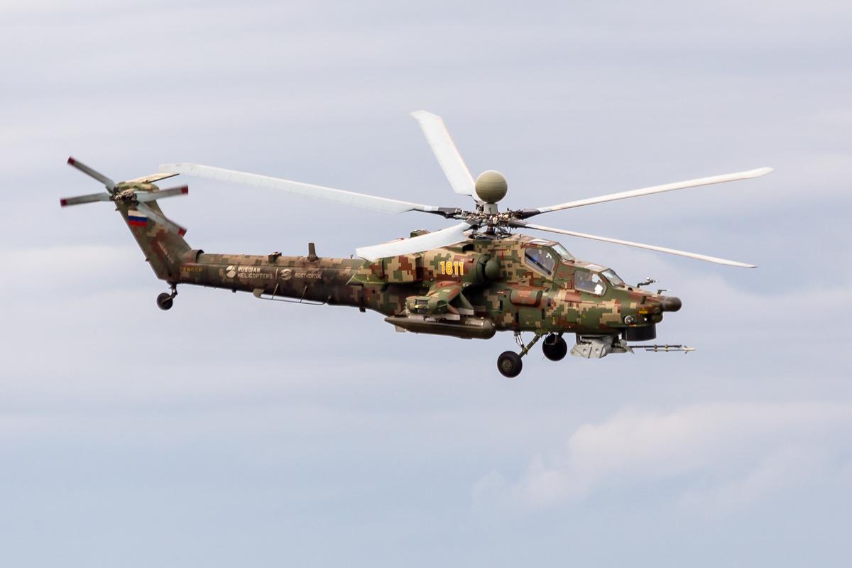 Mil Mi-28, Ми-28, YELLOW 1811