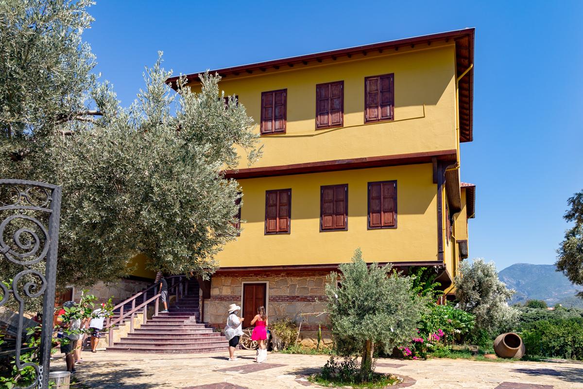 музей оливкового масла Stonehouse